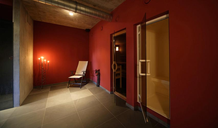 Relax and rejuvenate – in our wellness area